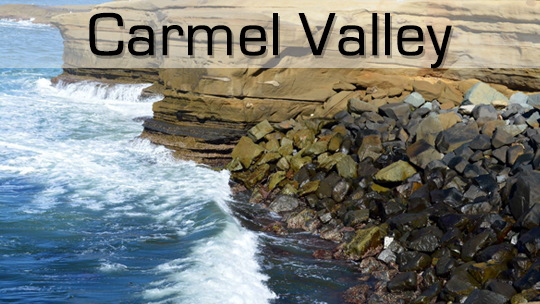 A picture of Carmel Valley San Diego where Rancho Mesa Properties offers property management services.