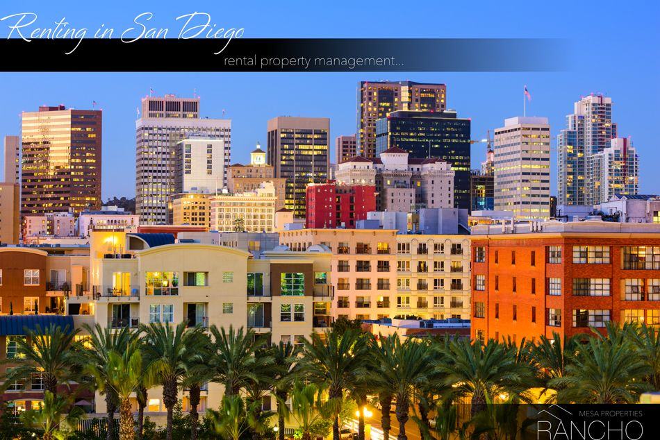 Renting in San Diego