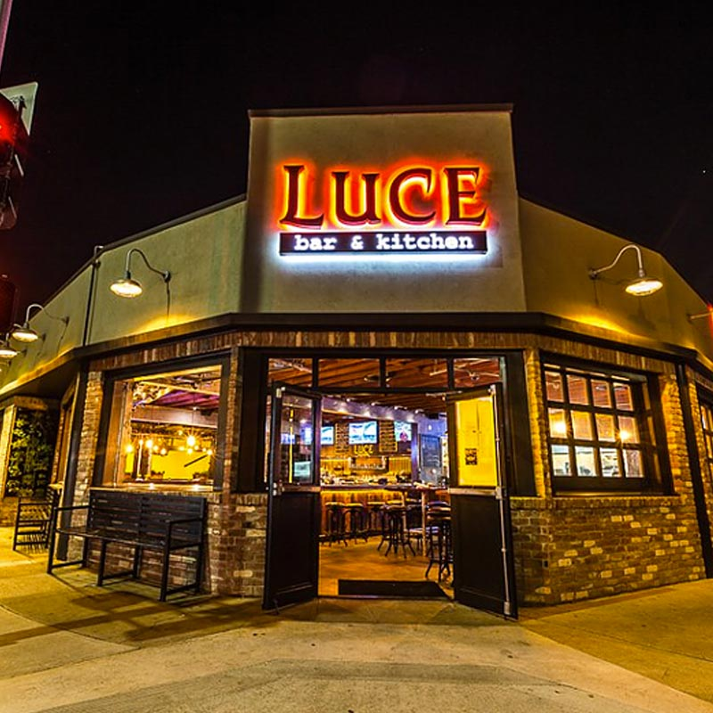 Luce Bar & Kitchen Bay Park San Diego