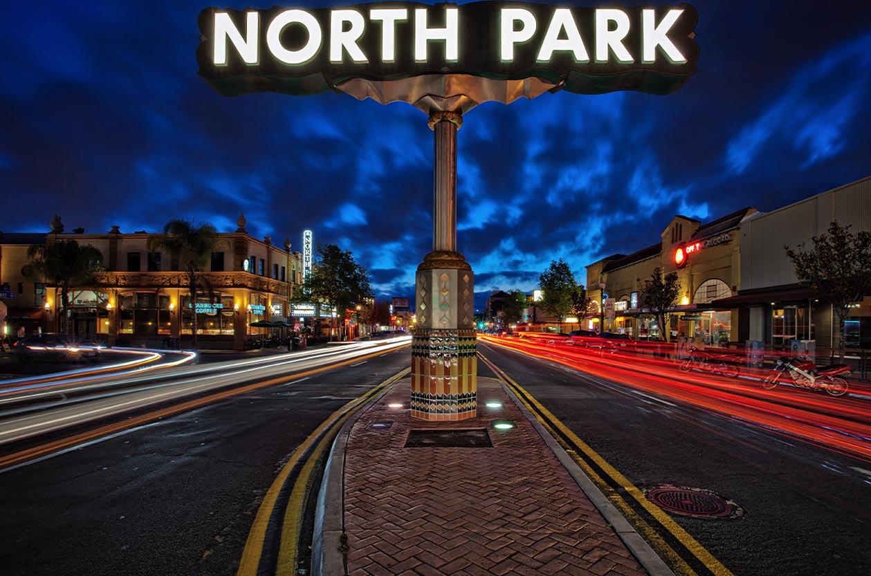 North Park San Diego Neighborhood