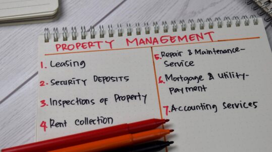 What a property manager does